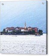 Isola Dei Pescatori Acrylic Print