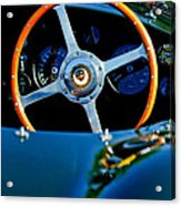 Jaguar Steering Wheel Acrylic Print