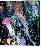 Jellyfish Forest Acrylic Print