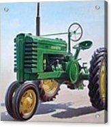John Deere Tractor Acrylic Print
