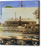 Josephine F. Wilbur School In Little Compton Rhode Island Acrylic Print