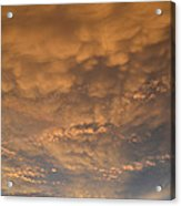 July 19-2013 Sunset Sky  Acrylic Print