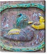 Just Ducky Acrylic Print