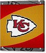Kansas City Chiefs Acrylic Print by Joe Hamilton