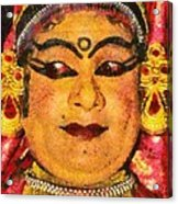 Katakali Actor In India Acrylic Print