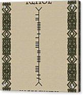 Kehoe Written In Ogham Acrylic Print