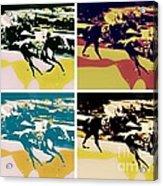 Kentucky Derby Acrylic Print