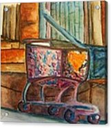 Kidnapped Cart Acrylic Print