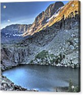 Kit Carson Peak And Willow Lake Acrylic Print