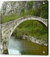 Konitsa Stonebridge Acrylic Print