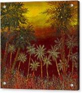 La Jungla Rossa Acrylic Print