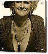 Lady Extra The Great White Hope Set Globe Arizona 1969-1984 Acrylic Print