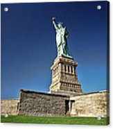 Lady Liberty 2 Acrylic Print