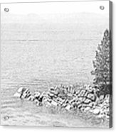 Lake Tahoe Rocky Point Acrylic Print