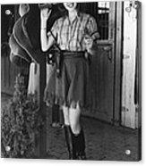 Lana Turner, 1937 Acrylic Print