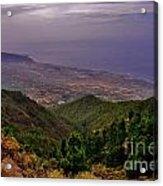 Landscape Amazing Colors Mountains Acrylic Print