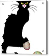 Le Chat Noir - Easter Acrylic Print