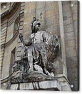 Les Invalides - Paris France - 01137 Acrylic Print