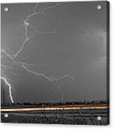 Lightning Thunderstorm Dragon Acrylic Print by James BO  Insogna
