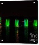 Lights At Night Acrylic Print