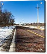 Lincoln Highway Acrylic Print