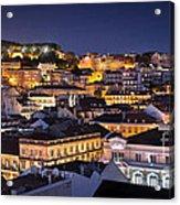 Lisbon Downtown Acrylic Print