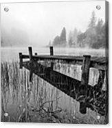 Loch Ard Early Mist Acrylic Print