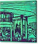 Long Center Acrylic Print