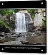 Looking Glass Falls North Carolina Acrylic Print