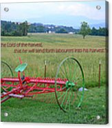 Lord Of The Harvest Acrylic Print