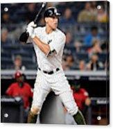 Los Angeles Angels of Anaheim  v New York Yankees Acrylic Print