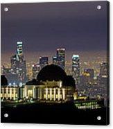 Los Angeles Skyline Acrylic Print