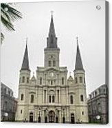 Louis Cathedral Acrylic Print