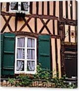 Low Angle View Of Houses Acrylic Print