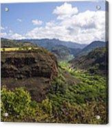 Lower Waimea Canyon Acrylic Print