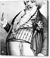 Luigi Lablache (1794-1858) Acrylic Print