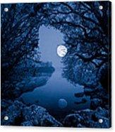 Luna Acrylic Print