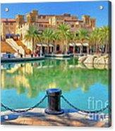 Madinat Jumeirah Souk - Dubai Acrylic Print