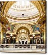 Madison Capitol Acrylic Print