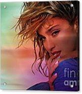 Madonna Art Acrylic Print