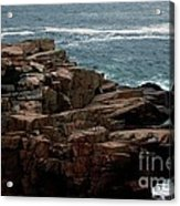 Maine Seascape Acrylic Print
