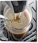 Making A Coffee Acrylic Print