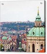 Mala Strana In Prague Acrylic Print