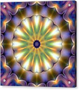 Mandala 105 Acrylic Print