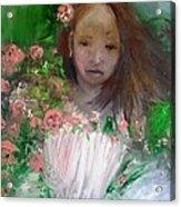Mary Rosa Acrylic Print