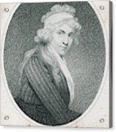 Mary Wollstonecraft Godwin Acrylic Print