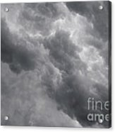 Masses Of Dark Clouds Acrylic Print
