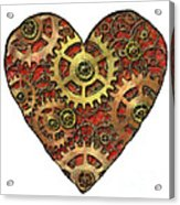 Mechanical Heart Acrylic Print