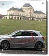 Mercedes Benz A-class Acrylic Print