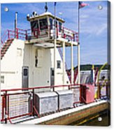Merrimac Ferry - Wisconsin Acrylic Print